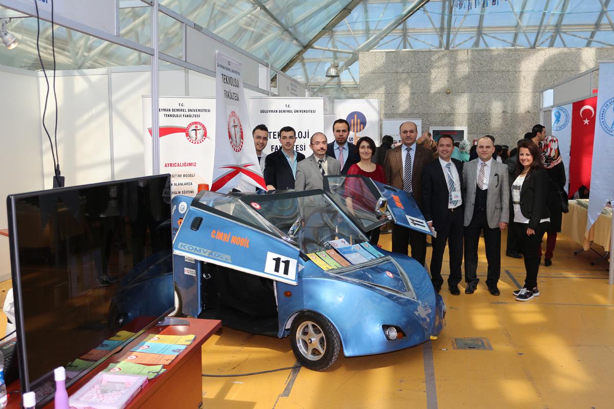 Teknoloji Kulübünün Yaptığı Cimri Mobil Antalya İstihdam Fuarı'nda Gönülleri Fethetti