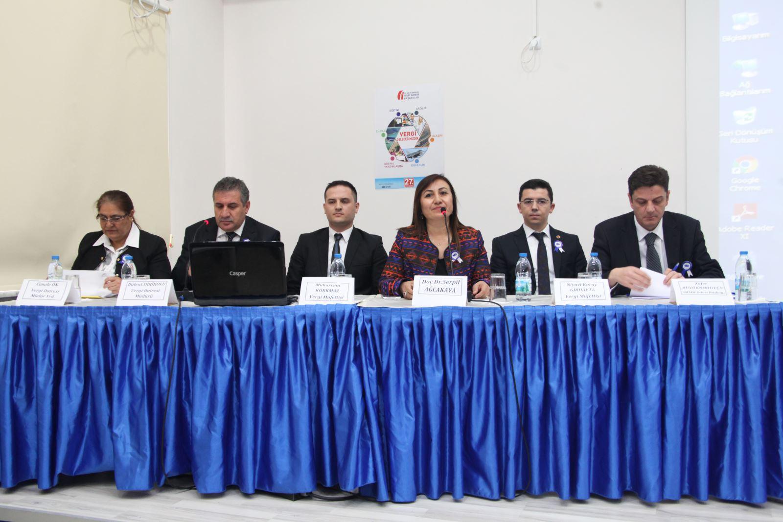 27 Vergi Haftasi Paneli Gerceklesti Suleyman Demirel